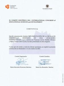 Certificado Comunicación Santander