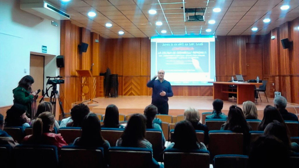 Conferencia sede Universidad Murcia Moratalla